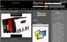 mp3passion.net Homepage Screenshot