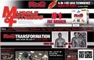 muscleandfitness.com Homepage Screenshot