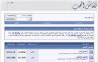 neqashalhob.com Homepage Screenshot