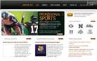 nmnathletics.com Homepage Screenshot