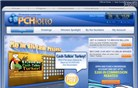 pchlotto.com Homepage Screenshot