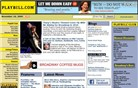 playbill.com Homepage Screenshot