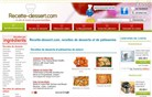 recette-dessert.com Homepage Screenshot