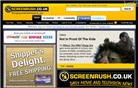 screenrush.co.uk Homepage Screenshot