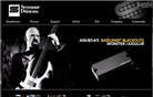 seymourduncan.com Homepage Screenshot