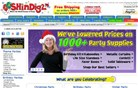 shindigz.com Homepage Screenshot