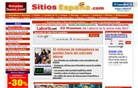 sitiosespana.com Homepage Screenshot