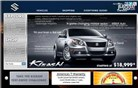 suzukiauto.com Homepage Screenshot