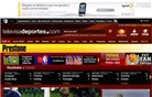 televisadeportes.com Homepage Screenshot