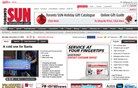 torontosun.com Homepage Screenshot