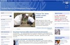 undp.org Homepage Screenshot