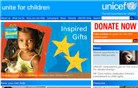 unicef.org.uk Homepage Screenshot