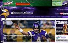vikings.com Homepage Screenshot