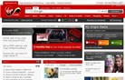 virginmedia.com Homepage Screenshot
