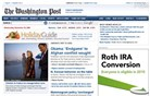 washingtonpost.com Homepage Screenshot