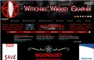 witchyswikkedgraphix.com Homepage Screenshot