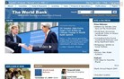 worldbank.org Homepage Screenshot