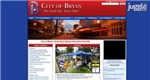 Bryan, Texas - Top City Government Website Screenshot