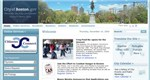 Boston, Massachusetts - Top City Government Website Screenshot