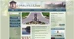Coralville, Iowa - Top City Government Website Screenshot