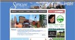 Syracuse, New York - Top City Government Website Screenshot