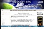 allinclusivelinks.com Homepage Screenshot