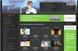 animeseason.com Homepage Screenshot
