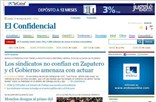 elconfidencial.com Homepage Screenshot