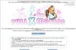 fullxmovies.com Homepage Screenshot