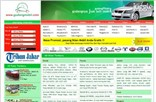 gudangmobil.com Homepage Screenshot