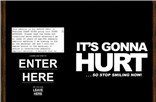 itsgonnahurt.com Homepage Screenshot