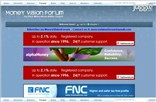 moneyvisionforum.com Homepage Screenshot