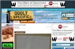 oddlyspecific.com Homepage Screenshot