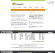 angege.com Homepage Screenshot