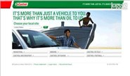 castrol.com Homepage Screenshot