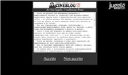cineblog01.com Homepage Screenshot