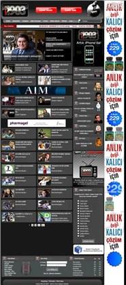 haber1903.com Homepage Screenshot