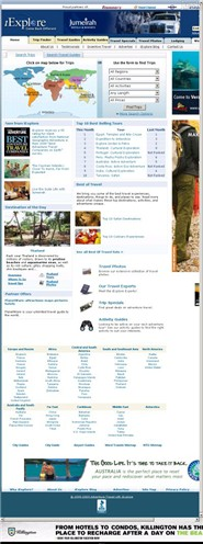 iexplore.com Homepage Screenshot
