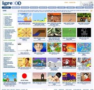 igre123.com Homepage Screenshot