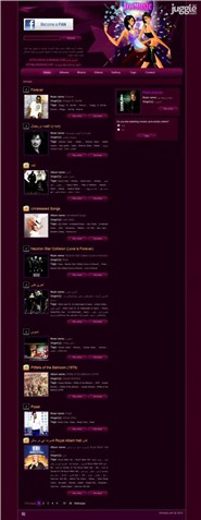 iromusic.com Homepage Screenshot