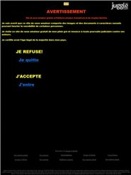 jacquie-et-michel.net Homepage Screenshot