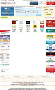 magicbricks.com Homepage Screenshot