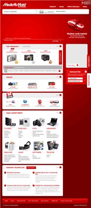 mediamarkt.pl Homepage Screenshot