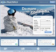 multiply.com Homepage Screenshot