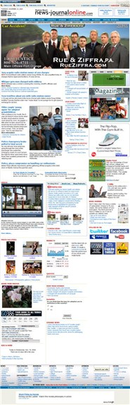 news-journalonline.com Homepage Screenshot