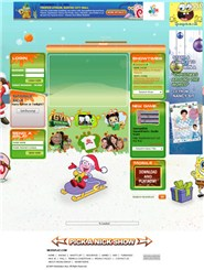 nicksplat.com Homepage Screenshot