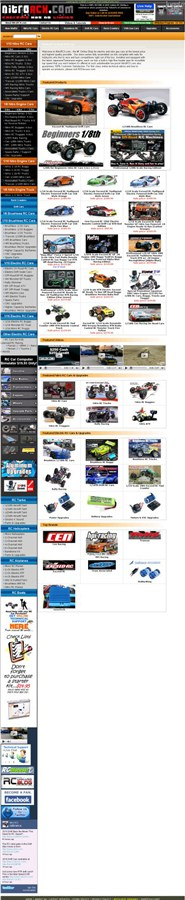 nitrorcx.com Homepage Screenshot