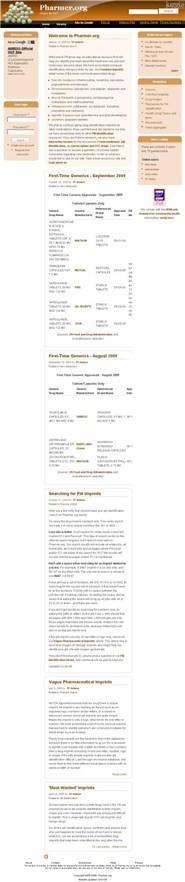 pharmer.org Homepage Screenshot