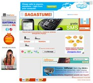 sagastume.com Homepage Screenshot
