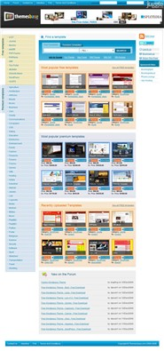 themesbase.com Homepage Screenshot